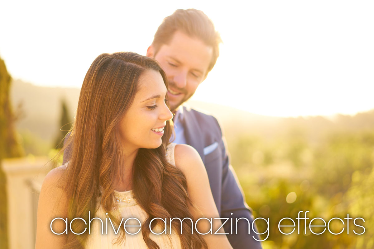 achieve amazing effects with your aperture